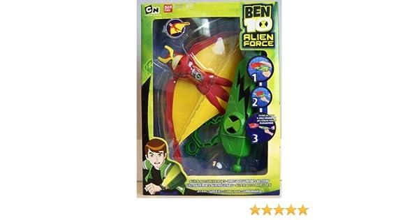 20 cm Alien Action Heroes env Jet Ray Alien Force Ben 10-27572