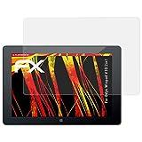atFolix Schutzfolie kompatibel mit Odys Winpad V10 2in1 Bildschirmschutzfolie, HD-Entspiegelung FX Folie (2X)
