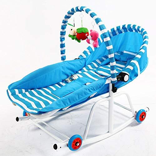 Tcaijing Babyschaukel Baby-Schaukelstuhl kann Baby Schaukel Sitz Koax Wiege Bett schlafen Push Baby Komfort mit Musik Sessel Schaukelstuhl werden