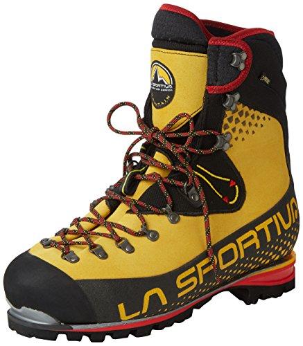 La Sportiva Nepal Cube GTX–Scarponi da Montagna per Uomo, Colore: Giallo Giallo Size: 44