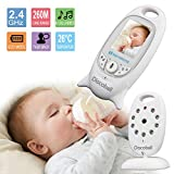Discoball 2.0 Inch Colour LCD Wireless Digital Audio Video Security Baby Monitor