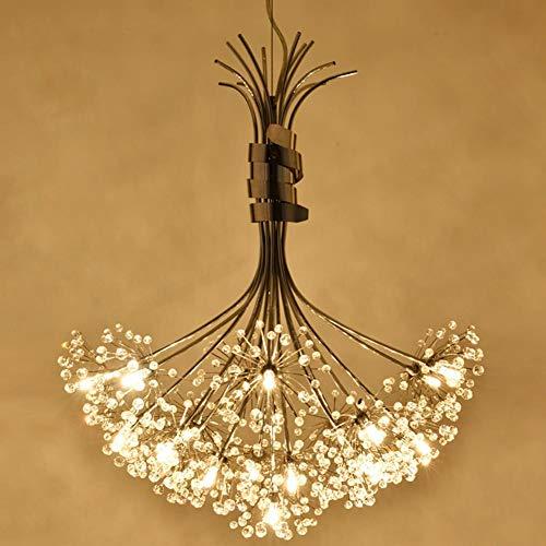 XXQ LED-Deckenleuchte Kronleuchter einfache amerikanische Löwenzahn Bouquet Crystal Beleuchtung Küche Bar Gang Bauernhaus Restaurant Schlafzimmer, a (Bauernhaus Beleuchtung Küche)