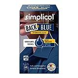 Simplicol Farberneuerung Back-to-Blue, Blau: Farbauffrischung und -Erneuerung in der Waschmaschine, Hautfreundlich, All-in-1, Komplette DIY Färbemischung mit Textilfarbe für Stoffe [2018er Version]