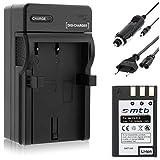 Batería + Cargador (Coche/Corriente) para Nikon EN-EL9/D40, D40x, D60, D3000, D5000