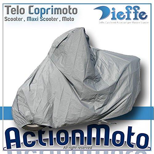 Coprimoto-Telo-Maxi-Scooter-Maxi-Moto-Dieffe-America-Grigio