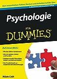 Psychologie Fur Dummies (F??r Dummies) by Adam Cash (2010-02-10)