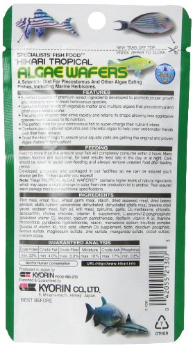 Hikari Usa Inc AHK21307 tropical Algae Wafer 1.41-Ounce 4