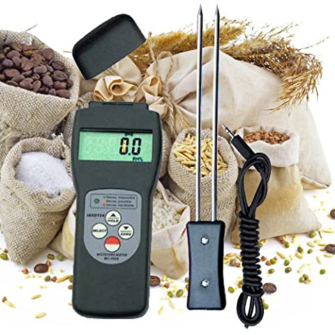 Moisture meausring instrument meter tester for grain hay/straw/coffee/rice/flour F07-FBA