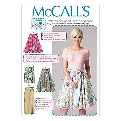 Mccall's Patterns 7129 F5 Sizes 16/18/20/22/24 Misses Skirts Sewing Pattern by McCall's Patterns