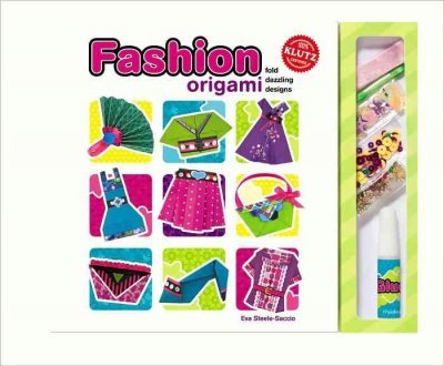 (Fashion Origami: Fold Dazzling Designs [With Sequins and Glue and 80 Sheets of Patterned Paper and Ribbon]) By Steele-Saccio, Eva (Author) Spiral on 15-Feb-2010