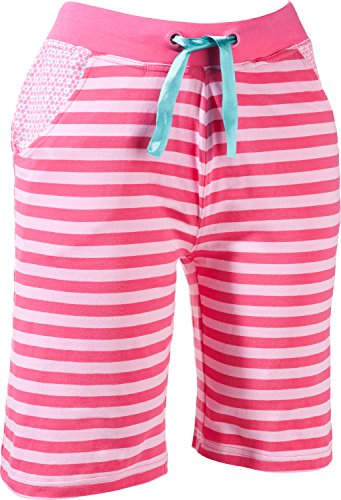 laritaM Hose, kurz Single-Jersey Pink