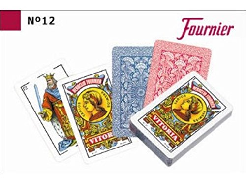 NAIPES FOURNIER 12 40 CARTAS 9,5cm (12){=006099=