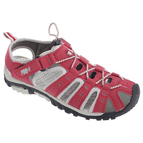 PDQ , Damen Sport- & Outdoor Sandalen Rot rot, Rot - rot - Größe: Small Outdoor Damen Stiefel