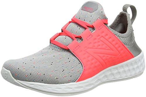 New balance fresh foam cruz sport pack reflective, scarpe running donna, rosa (salmon), 37 eu
