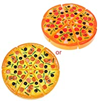 Pizza Maker Slices Pizza Cooking Game-Children Kids Kitchen Pizza Party Fast Food Slices Cutting Pretend Play Food Toy Premium Quality