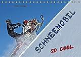 Schneemobil - so cool (Tischkalender 2019 DIN A5 quer): Schneemobil fahren - unbeschreibliches Fahrgefühl mit viel Suchtpotenzial. (Monatskalender, 14 Seiten ) (CALVENDO Sport)