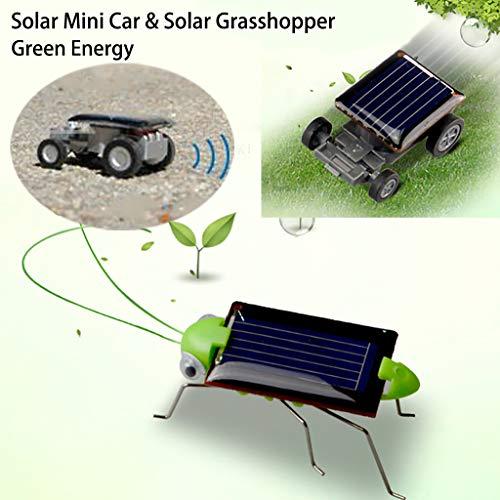 Tianya - Die Kleinste Solar Spielzeug Mini Car Spielzeug Und Heuschrecke Solar Bildung, Spielzeug Für Die Intellektuelle Entwicklung Von Kindern
