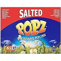 Popz salados las palomitas de microonda 6 x 90g