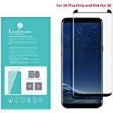 Marstech Samsung Galaxy S8 Plus 0.1mm 3D Tempered Glass Screen Protector made from Japan Asahi Glass Bubble Free Anti-Fingerprint