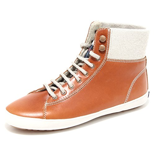 sneaker donna FRED PERRY scarpa shoes unisex 44580 Cuoio