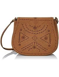 Springfield 8529752, Bolso Bandolera para Mujer, Marrón (Brown), 3x15x17 cm (W x H x L)