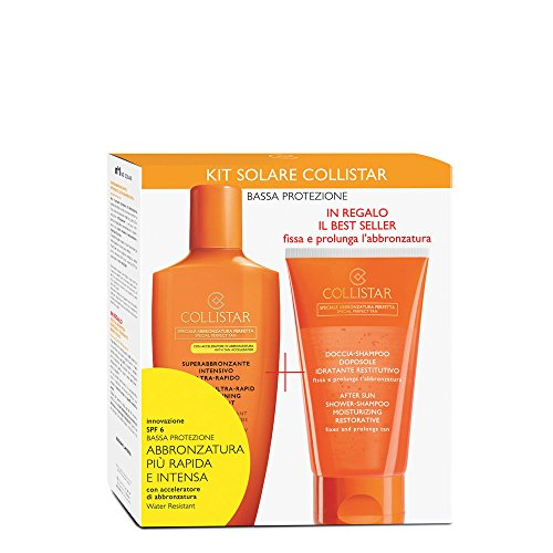 trattamento weekend superabbronzante spf 6 200ml+shampoo doposole150ml