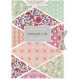 Vintage Tissu & Co et parfumée pour tiroirs Fleurs (Lot de 6)