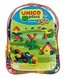 Unico Base 8556 - Mochila con bloques de construcción (150 piezas)