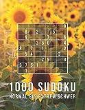 1000 Sudoku - Normal Bis Extrem Schwer: Die Große Rätsel Sammlung | Tolles Geschenk für Erwachsene, Großeltern, Senioren | Rätselbuch mit Lösungen - Mega Sudoku 1000