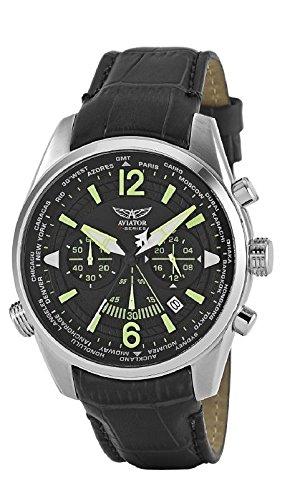 Aviator F-Series AVW2120G317Reloj cronógrafo para hombre
