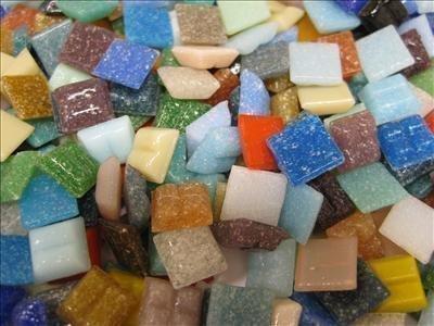 Mosaic Tiles 10 10 X 4mm. The Full Mix Blend. 1600 Tiles Pack