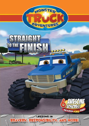Monster Truck Adventures: Straight To The Finish [DVD] [Region 1] [NTSC] [US Import]