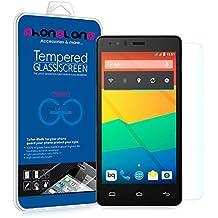 Protector pantalla de cristal templado Premium para BQ Aquaris U Plus