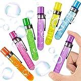 German Trendseller 6 x Anfassbare Seifenblasen - Reagenzglas ┃ Neu ┃ Magische Party Bubbles ┃ Mitgebsel ┃ Kindergeburtstag ┃ 6 Stück