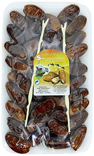 Sodabat Domino Barquette de dattes d'Algérie Deglet Nour 500 g