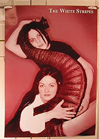White Stripes - 61X87Cm Affiche / Poster