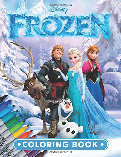 FROZEN Coloring Book: Exclusive 53 Illustrations