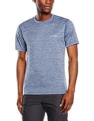 Columbia Herren Zero Rules Short Sleeve T-Shirt, Schwarz