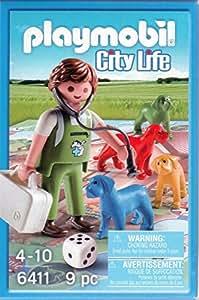 Playmobil - 6411 - City Life - Jeu Vétérinaire