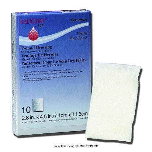 KALTOSTAT Alginate Dressing, Kaltost Drs 2X2 in -Ns, (1 BOX, 10 EACH) by ConvaTec -