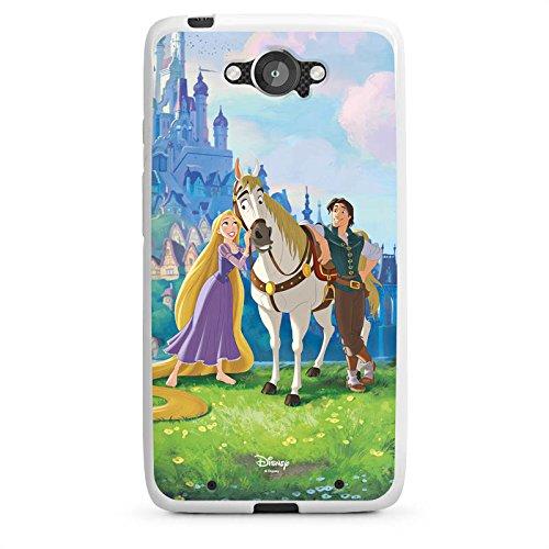 Motorola Droid Turbo Hülle Silikon Case Schutz Cover Disney Rapunzel ? Neu verföhnt Merchandise Geschenke
