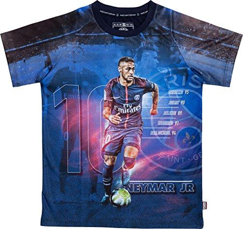 PSG Maillot Neymar Jr - Collection Officielle Paris Saint Germain - Taille Enfant 10 Ans