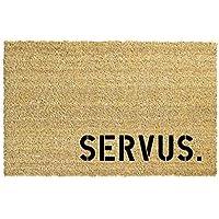 SERVUS. Kokos-Fußmatte Teppich Fußabtreter 40 x 60 cm Geschenk Einzug Geburtstag