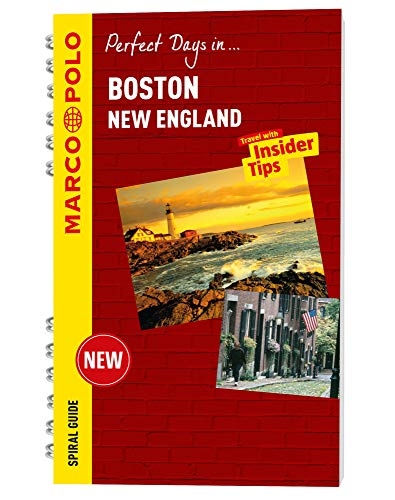 Boston Marco Polo Travel Guide - with pull out map (Marco Polo: Perfect Days)