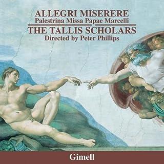Allegri - Miserere; Palestrina - Missa Papae Marcelli - Stabat mater - Tu es Petrus (6vv)
