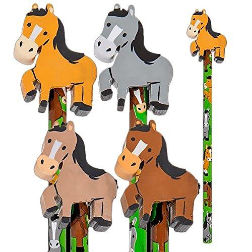 Bleistift Pferd, 1 Stk, mit Radiergummi