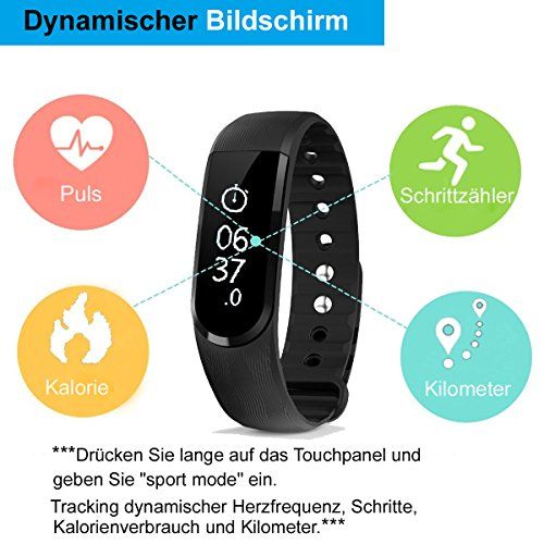 Zoom IMG-3 willful sw327 bracciale fitness con