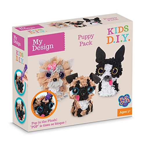 ORB Factory - 77808 - My Design Puppy Pack 3 Personnages 3D