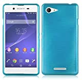 Cadorabo Case works with Sony Xperia E3 in TURQUOISE –