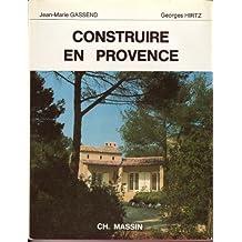 Construire en Provence